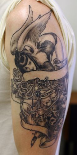 Gothic tattoos-arm tattoo2#