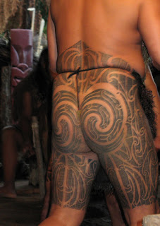 Maori Gang Members Tattoo:tattoo:tato:aneka tattoo:primitiv tattoo