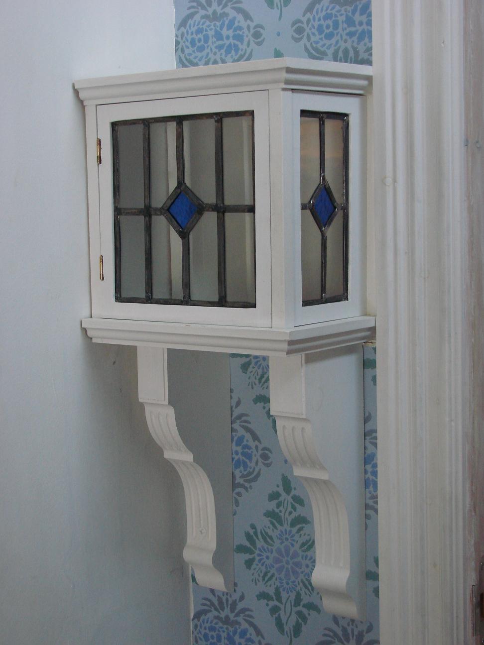 Fönster blyinfattade fönster : Med ögon känsliga för blÃ¥tt: Veckans hus - blyinfattat
