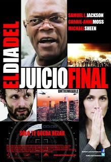 El Día del Juicio Final / Unthinkable Poster
