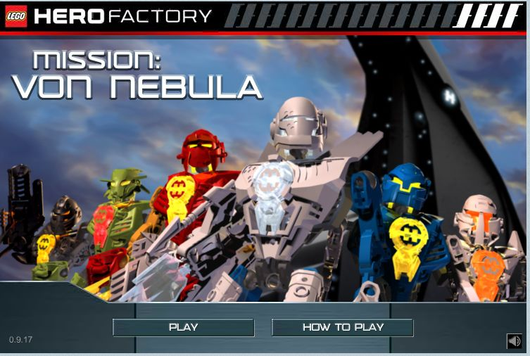 hero factory game