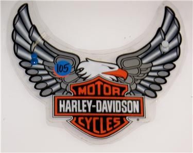 Cluve Motorcycles Hog Attention With Harley Davidson Stickers - Stickers for motorcycles harley davidsons