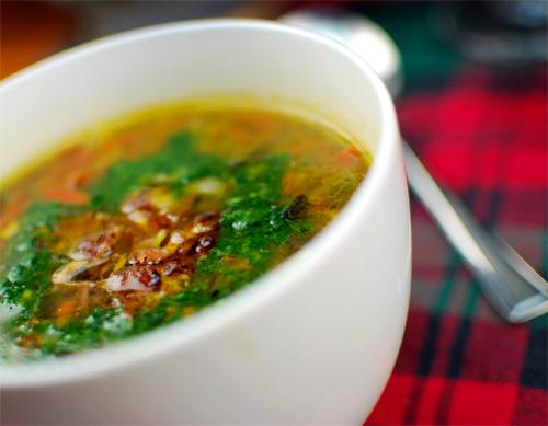 Judith, the Irish Foodie: Cock-a-leekie Soup