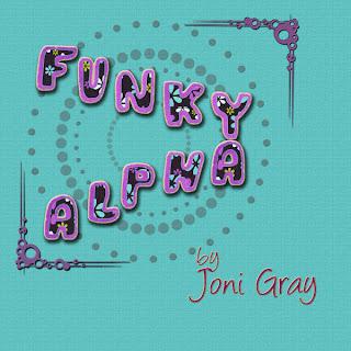 funky alpha