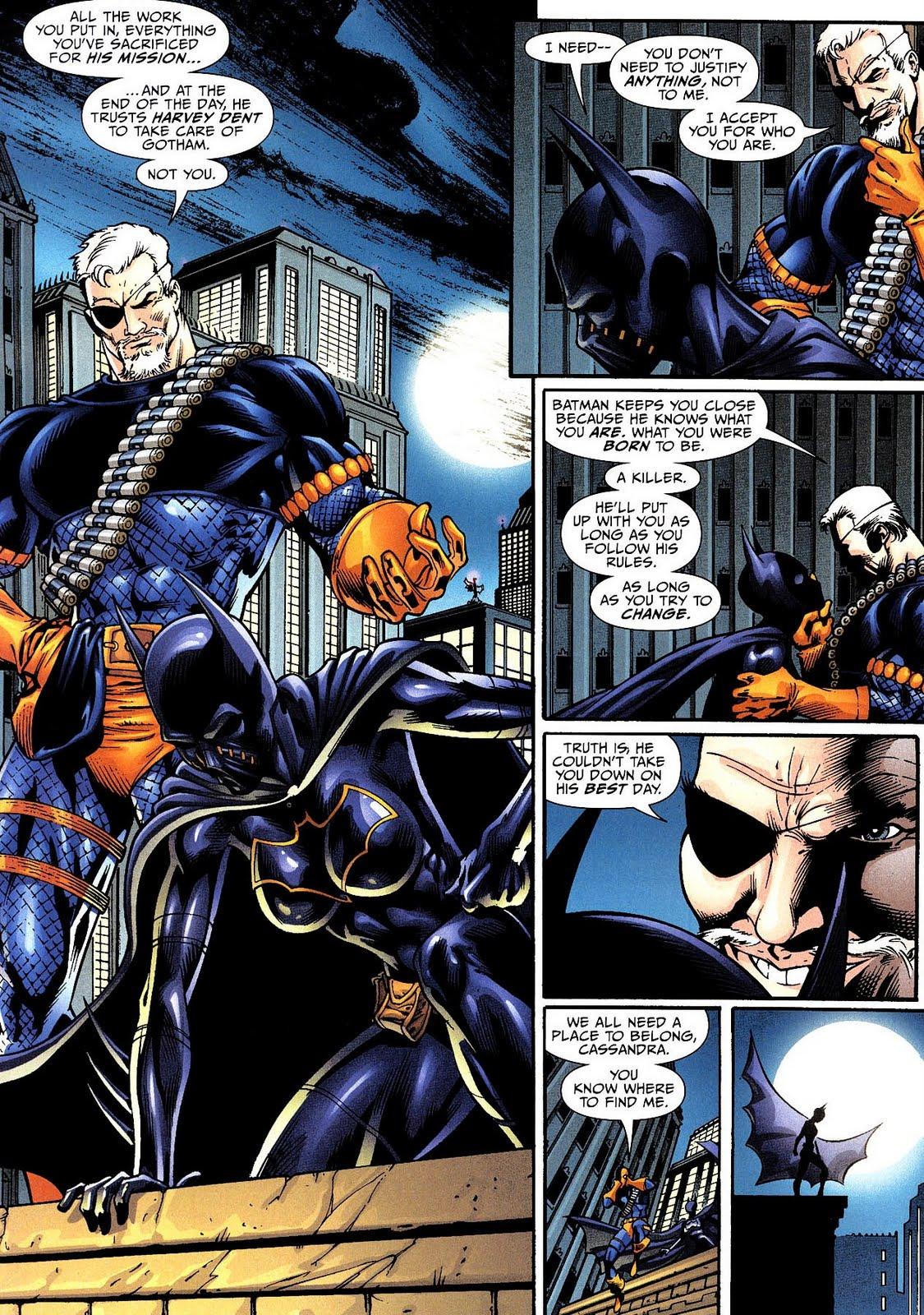 Batgirl Defeated Batgirl (cassandra cain).