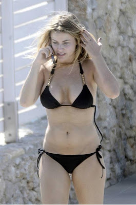 Seems excellent Carmen electra joggong bikini congratulate, what