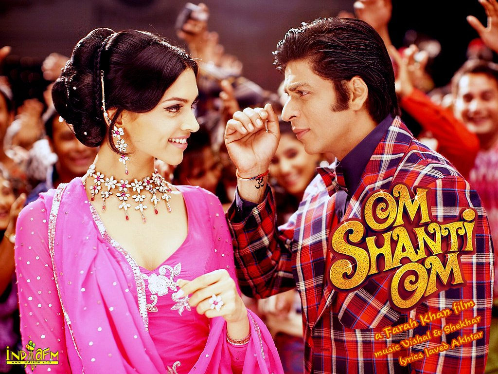 Om Shanti Om Wallpapers- Deepika Padukone, Shahrukh Khan ...