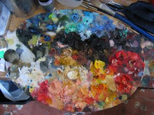 Retired Art Palette