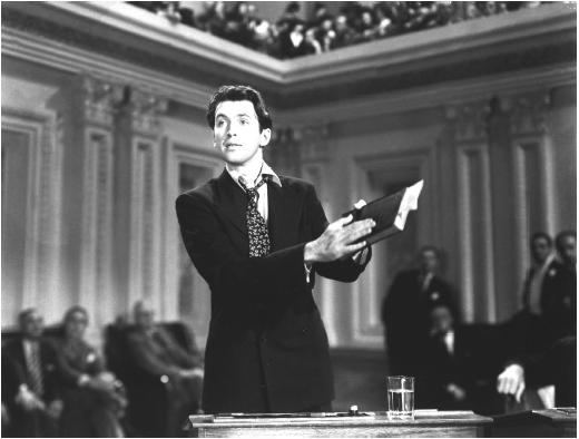 mr smith goes to washington film Mr smith goes to washington (1939) is producer/director frank capra's classic comedy-drama, and considered by many to be his greatest achievement in film (and.