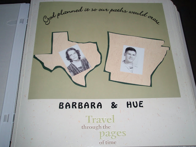 50th Wedding Anniversary Scrapbooking Ideas