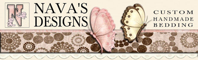 Designer Baby Bedding by Nava&#39;s Designs