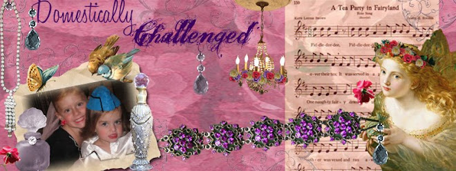 Blog Banner I did for Jana at Domestically Challenged....Thanks Jana!