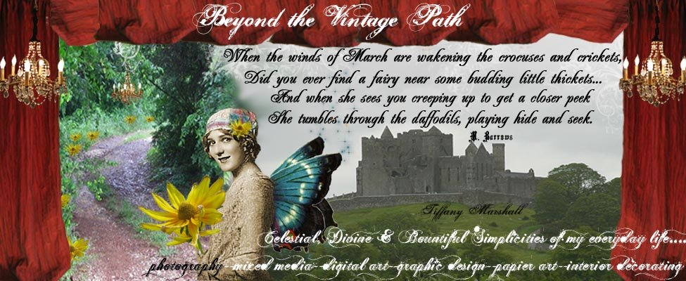 Beyond the Vintage Path.....Another one of my Blog Banners