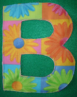 Letter B Fabric