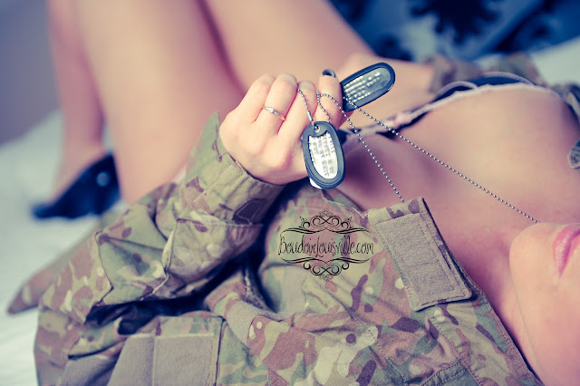 Military Wives Boudoir Photography