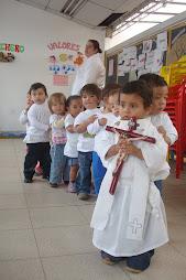 en el servicio a los niños encontramos a Dios