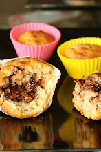 Muffin poire nutella