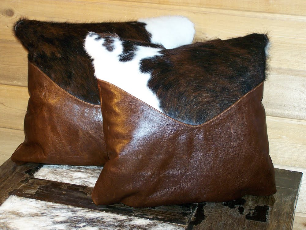 cowboy design pillows unique accent style cowhide throw studio hand fringe custom leather for signature with pillow by decor southwestern laced good western horses