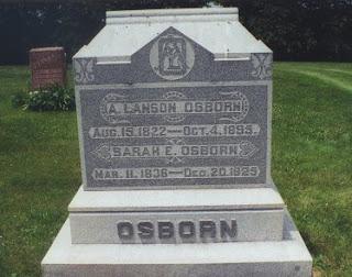 Alanson Osborn - Headstone