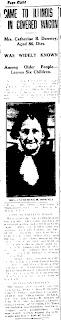 Catherine Burtner Downey - Newspaper Obituary