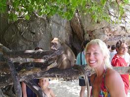 Monkey Island in Koi Phi Phi, Thailand