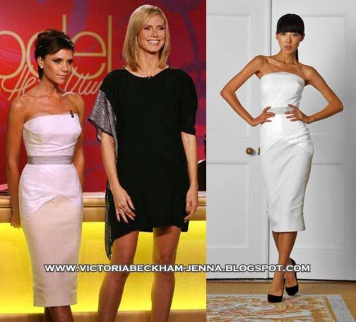 Victoria Beckham Dresses 2009. Victoria wore a self designed