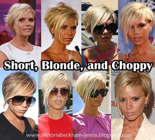 Victoria Beckham Blonde. The we move onto the londe