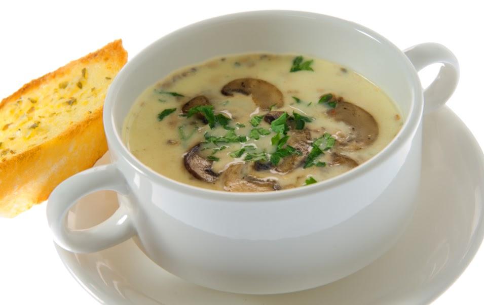 Mushroom Soup & Garlic Bread @ RM4.90