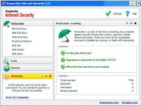 Download the latest Kaspersky Anti-Virus Update: 6 June 2008