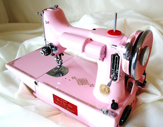 pink featherweight sewing machine for sale