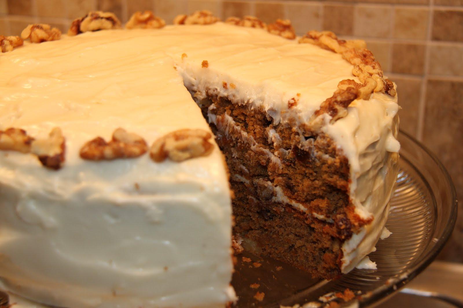 Sweet Potato Pound Cake With Buttercream Frosting