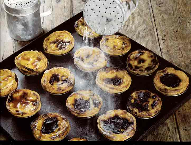 maison douce past is de nata portuguese custard tarts. Black Bedroom Furniture Sets. Home Design Ideas