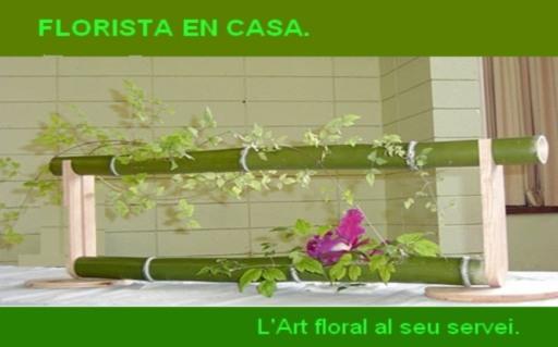 Florista en casa