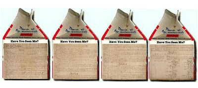 Constitution on milk carton