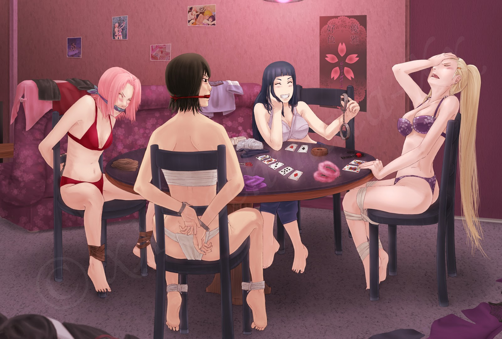 Bebe female domination poker British
