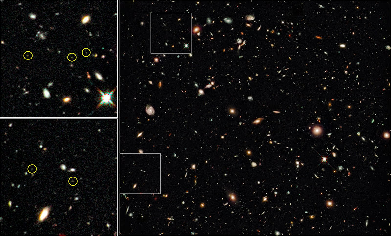Hubble Ultra Deep Field - Infrared
