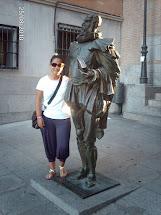 Con el Maestro Cervantes (Toledo)