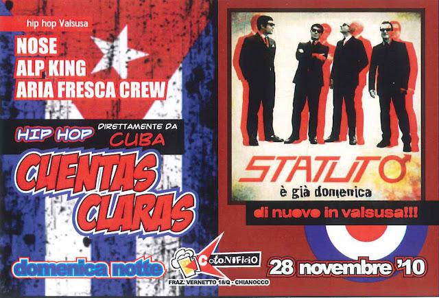 CUENTAS CLARAS + STATUTO