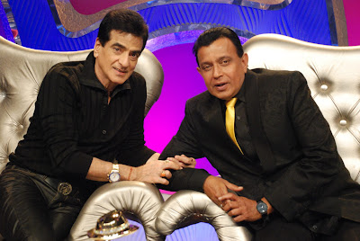 Jeetu ji  Mithun Da on Lux Dance India dance