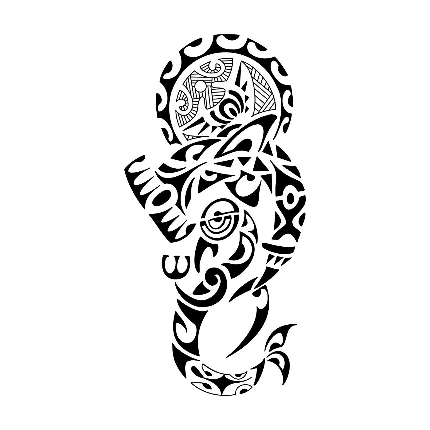 Blu sky tattoo studio maori significato 82 for Tattoo simboli di vita