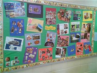 Vocabulary Bulletin Board