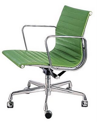 Today I Solved My Sewing Chair Problem. My Dream Chair Is The Eames Aluminum  Management Chair From Design Within Reach In Apple Green Leather.