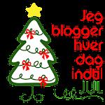 Jeg prøver at blogge hver dag frem til jul