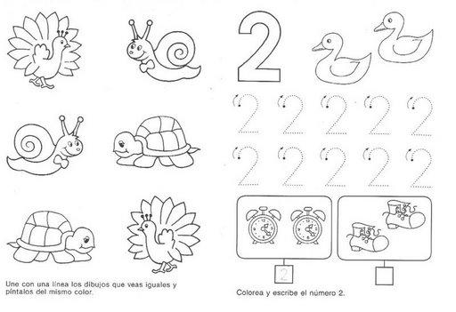 Dibujos para colorear de ancho - Imagui