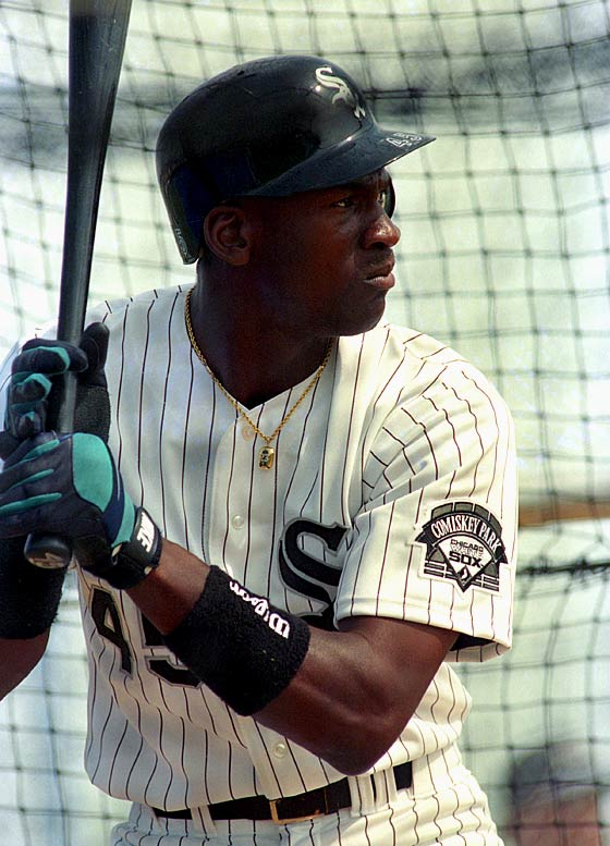 michael jordan white sox