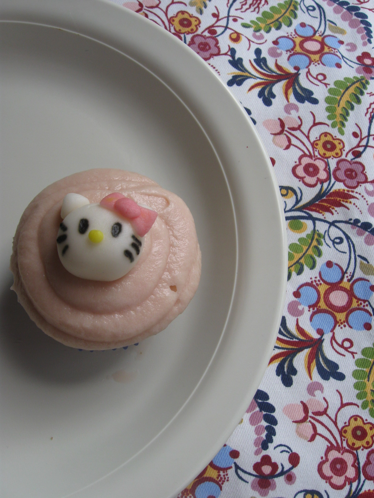 how to make hello kitty out of fondant