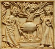 Tristano e Isotta spiati dal Re