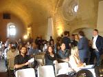 Lo staff completo di GOMMALACCATEATRO, ospiti al castello di Bari