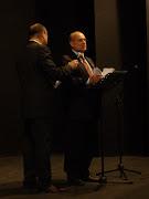 Il Dott. Vitale, durante una cerimonia di beneficenza