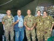 Il nostro inviato, dott. Pietro Vitale, in Fiera del Levante-Pad. Esercito Italiano